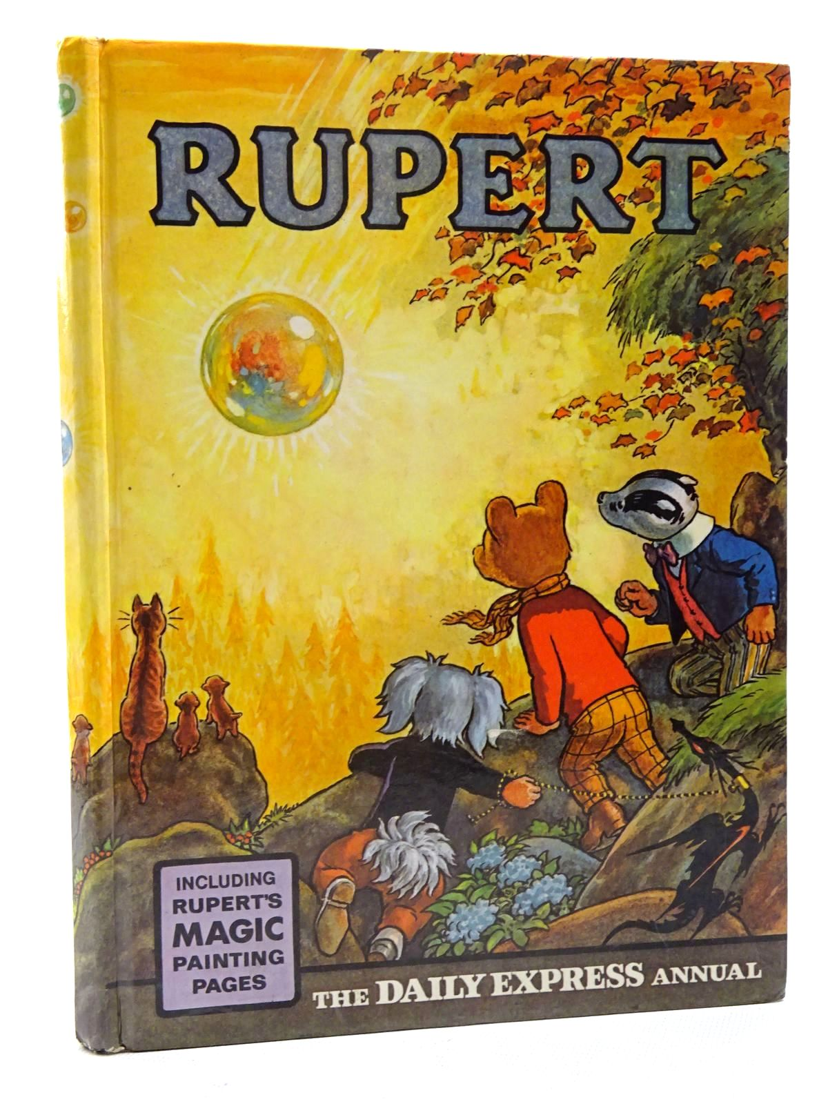 Photo of RUPERT ANNUAL 1968 written by Bestall, Alfred illustrated by Bestall, Alfred published by Daily Express (STOCK CODE: 1610693)  for sale by Stella & Rose's Books