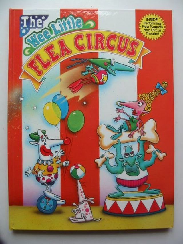 Photo of THE WEE LITTLE FLEA CIRCUS written by Witkowski, Dan illustrated by Jarvis, Nathan published by Abracadazzle (STOCK CODE: 1701157)  for sale by Stella & Rose's Books