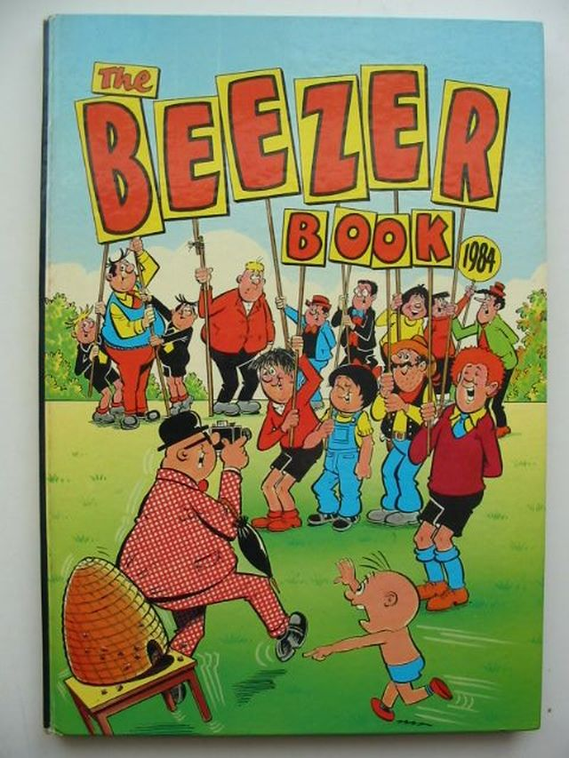 Photo of THE BEEZER BOOK 1984 published by D.C. Thomson & Co Ltd. (STOCK CODE: 1701467)  for sale by Stella & Rose's Books
