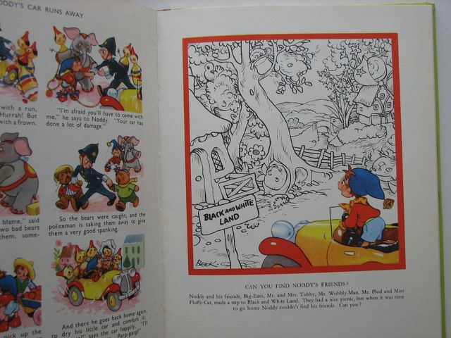 Photo of THE BIG NODDY BOOK written by Blyton, Enid illustrated by Beek,  published by Sampson Low, Marston & Co. Ltd., C.A. Publications Ltd. (STOCK CODE: 1701509)  for sale by Stella & Rose's Books