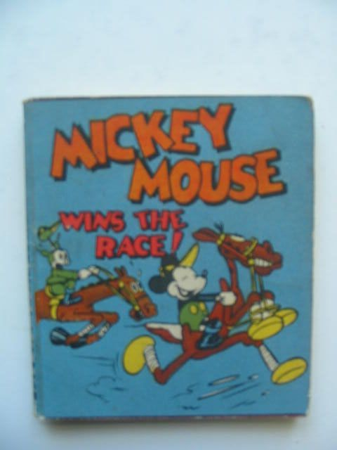 Photo of MICKEY MOUSE WINS THE RACE- Stock Number: 1702344