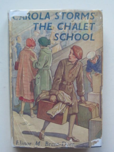Photo of CAROLA STORMS THE CHALET SCHOOL written by Brent-Dyer, Elinor M. published by W. & R. Chambers Limited (STOCK CODE: 1702701)  for sale by Stella & Rose's Books