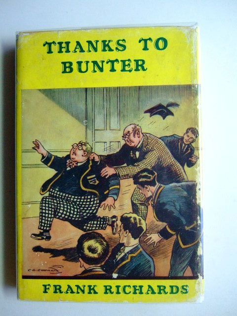 Photo of THANKS TO BUNTER written by Richards, Frank illustrated by Chapman, C.H. published by Cassell (STOCK CODE: 1702961)  for sale by Stella & Rose's Books
