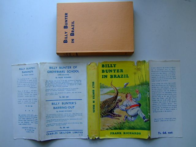 Photo of BILLY BUNTER IN BRAZIL written by Richards, Frank illustrated by Macdonald, R.J. published by Charles Skilton Ltd. (STOCK CODE: 1703326)  for sale by Stella & Rose's Books