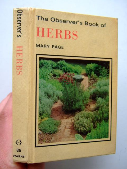 Photo of THE OBSERVER'S BOOK OF HERBS- Stock Number: 1703892