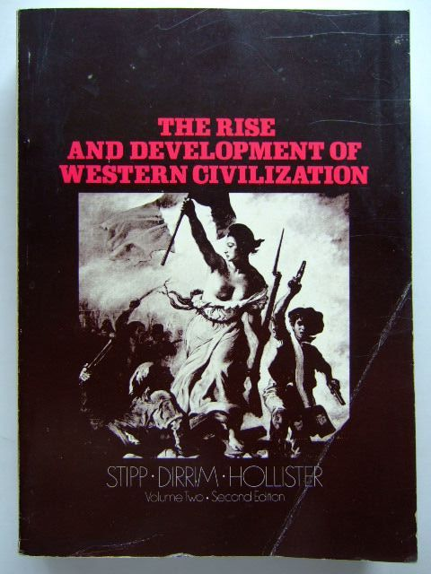 Photo of THE RISE AND DEVELOPMENT OF WESTERN CIVILIZATION VOLUME II- Stock Number: 1704073