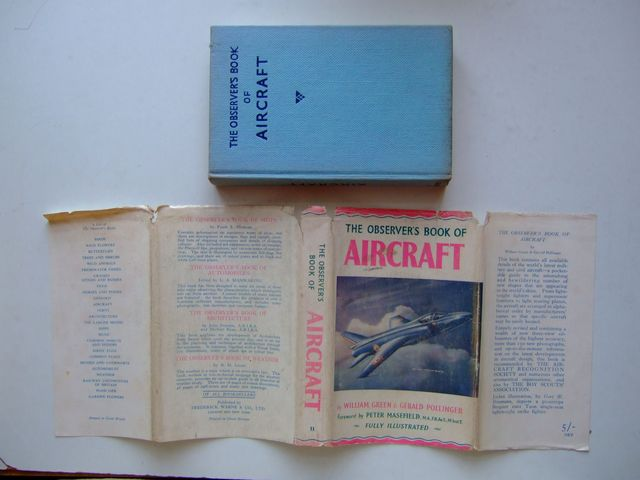 Photo of THE OBSERVER'S BOOK OF AIRCRAFT written by Green, William<br />Pollinger, Gerald published by Frederick Warne &amp; Co Ltd. (STOCK CODE: 1704221)  for sale by Stella & Rose's Books