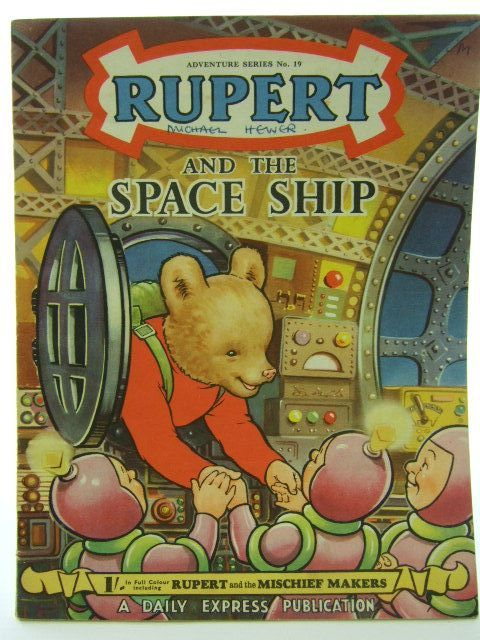 Photo of RUPERT ADVENTURE SERIES No. 19 - RUPERT AND THE SPACE SHIP written by Bestall, Alfred illustrated by Bestall, Alfred published by Daily Express (STOCK CODE: 1704563)  for sale by Stella & Rose's Books