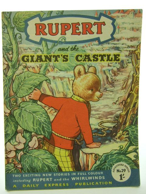 Photo of RUPERT ADVENTURE SERIES No. 29 - RUPERT AND THE GIANT'S CASTLE written by Bestall, Alfred published by Daily Express (STOCK CODE: 1704569)  for sale by Stella & Rose's Books