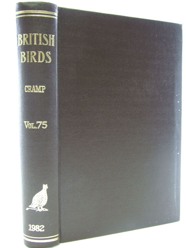 Photo of BRITISH BIRDS VOL. 75 written by Cramp, Stanley published by H.F. & G. Witherby Ltd. (STOCK CODE: 1705269)  for sale by Stella & Rose's Books