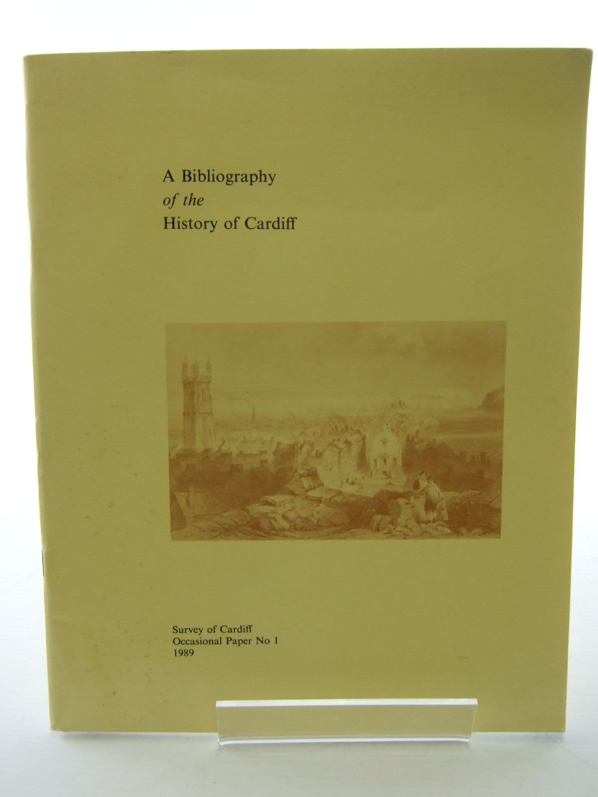 Photo of A BIBLIOGRAPHY OF THE HISTORY OF CARDIFF written by James, Brian Ll. Romaya, S.M. published by Survey Of Cardiff (STOCK CODE: 1705876)  for sale by Stella & Rose's Books