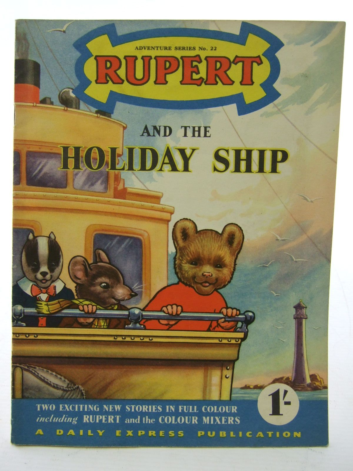 Photo of RUPERT ADVENTURE SERIES No. 22 - RUPERT AND THE HOLIDAY SHIP- Stock Number: 1706112