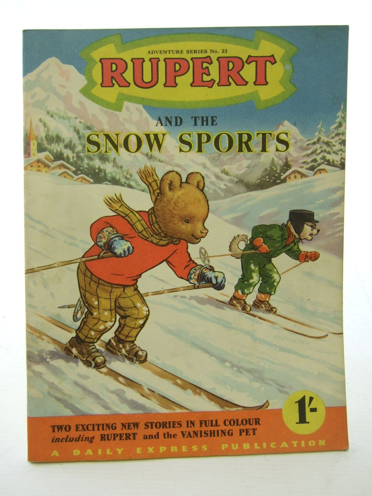 Photo of RUPERT ADVENTURE SERIES No. 23 - RUPERT AND THE SNOW SPORTS- Stock Number: 1706113