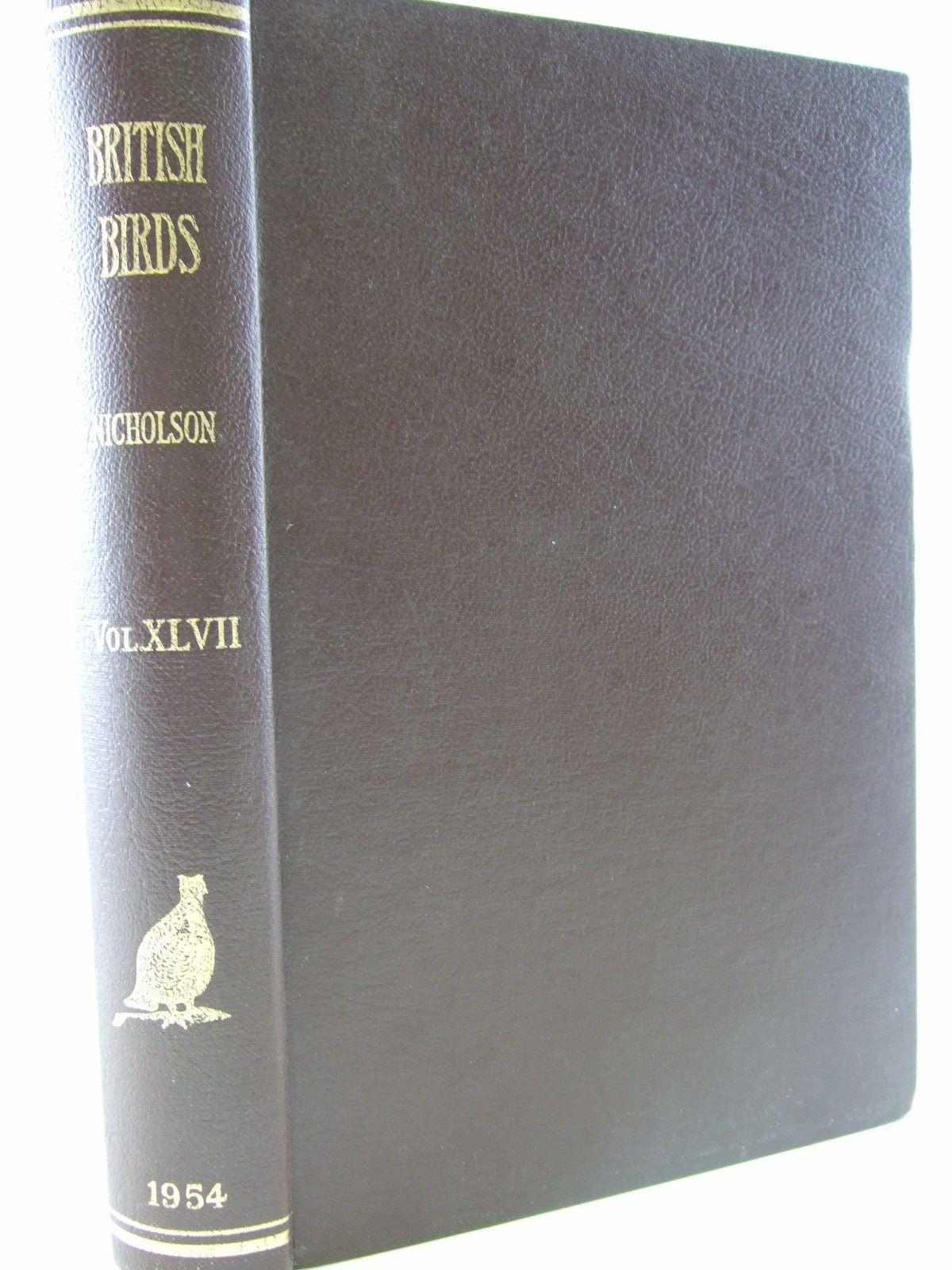 Photo of BRITISH BIRDS VOL. XLVII 1954- Stock Number: 1706173