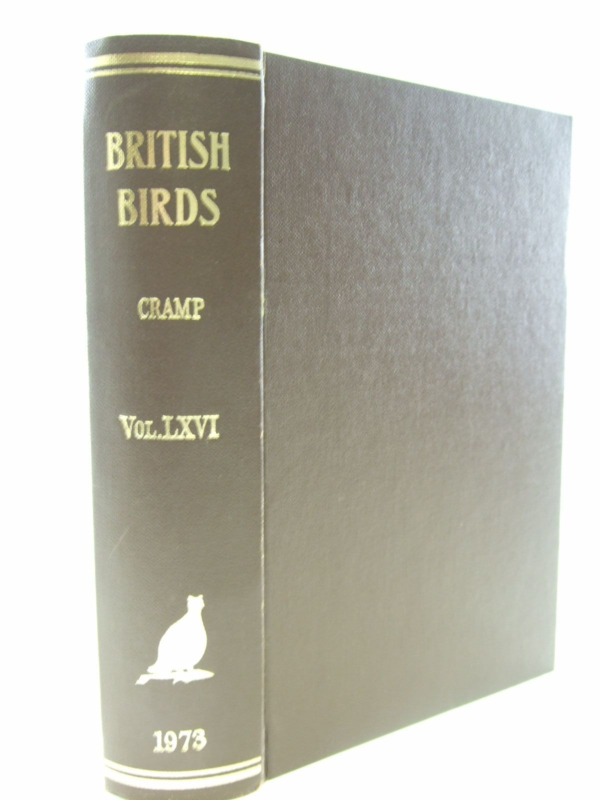 Photo of BRITISH BIRDS VOL. LXVI written by Cramp, Stanley published by MacMillan (STOCK CODE: 1706176)  for sale by Stella & Rose's Books