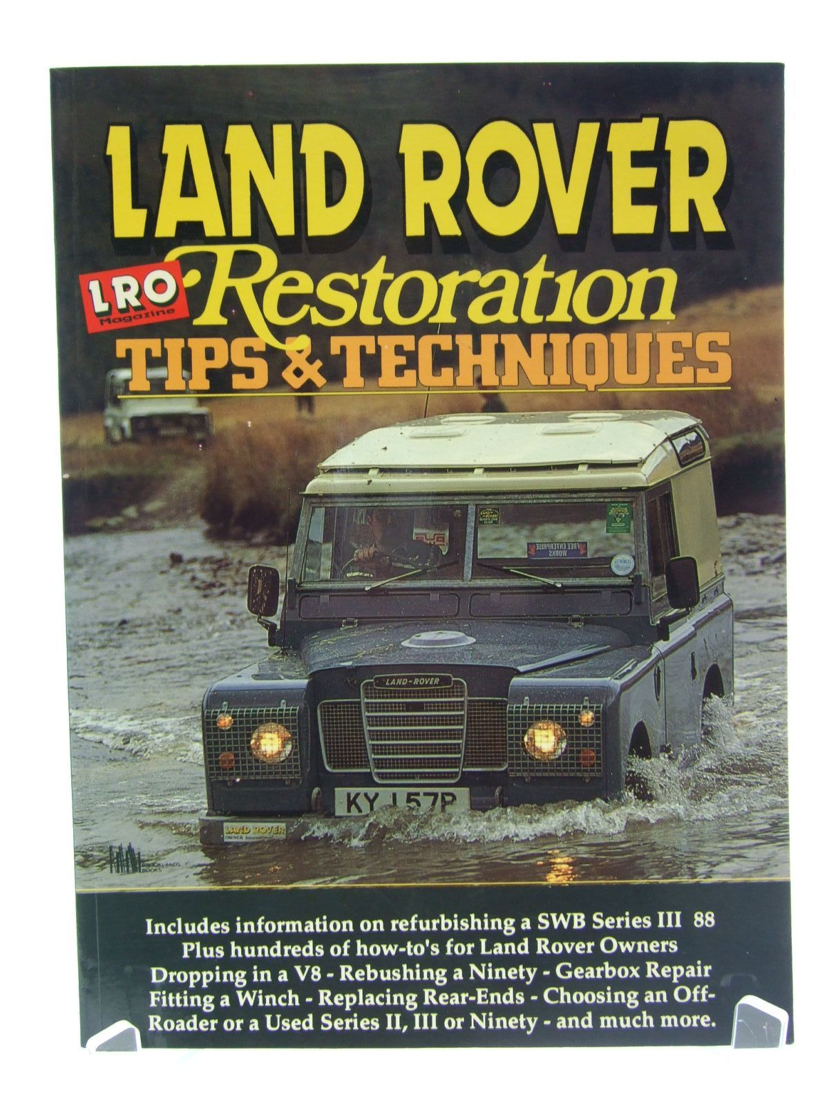 Photo of LAND ROVER RESTORATION TIPS & TECHNIQUES written by Green, Richard published by Lro Publications Ltd, Brooklands Books (STOCK CODE: 1706348)  for sale by Stella & Rose's Books