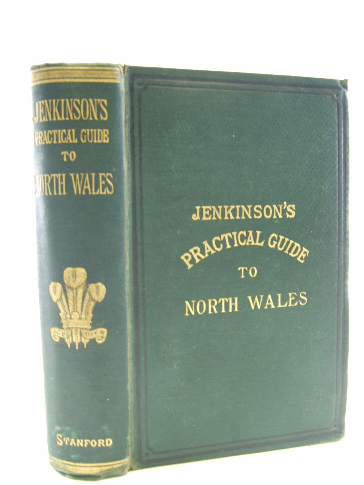 Photo of JENKINSON'S PRACTICAL GUIDE TO NORTH WALES written by Jenkinson, Henry Irwin published by Edward Stanford (STOCK CODE: 1706431)  for sale by Stella & Rose's Books