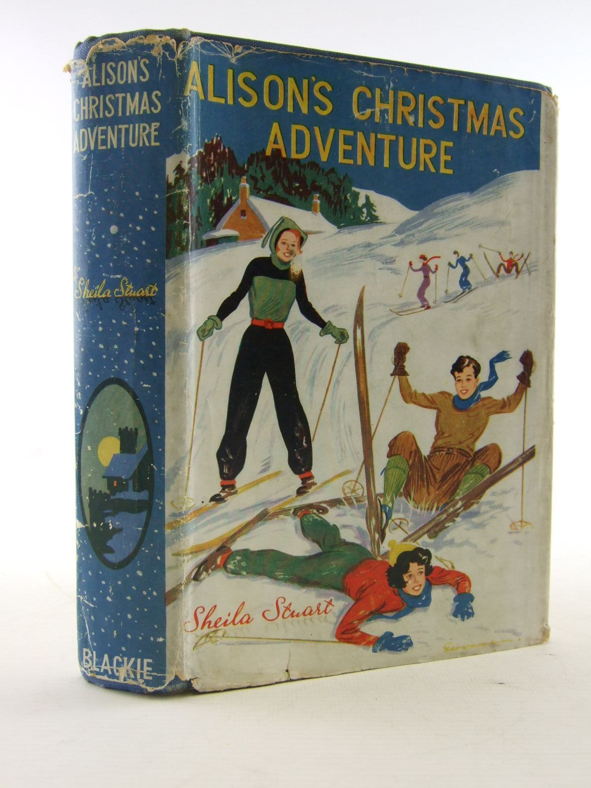Photo of ALISON'S CHRISTMAS ADVENTURE written by Stuart, Sheila illustrated by Gervaise,  published by Blackie & Son Ltd. (STOCK CODE: 1706472)  for sale by Stella & Rose's Books