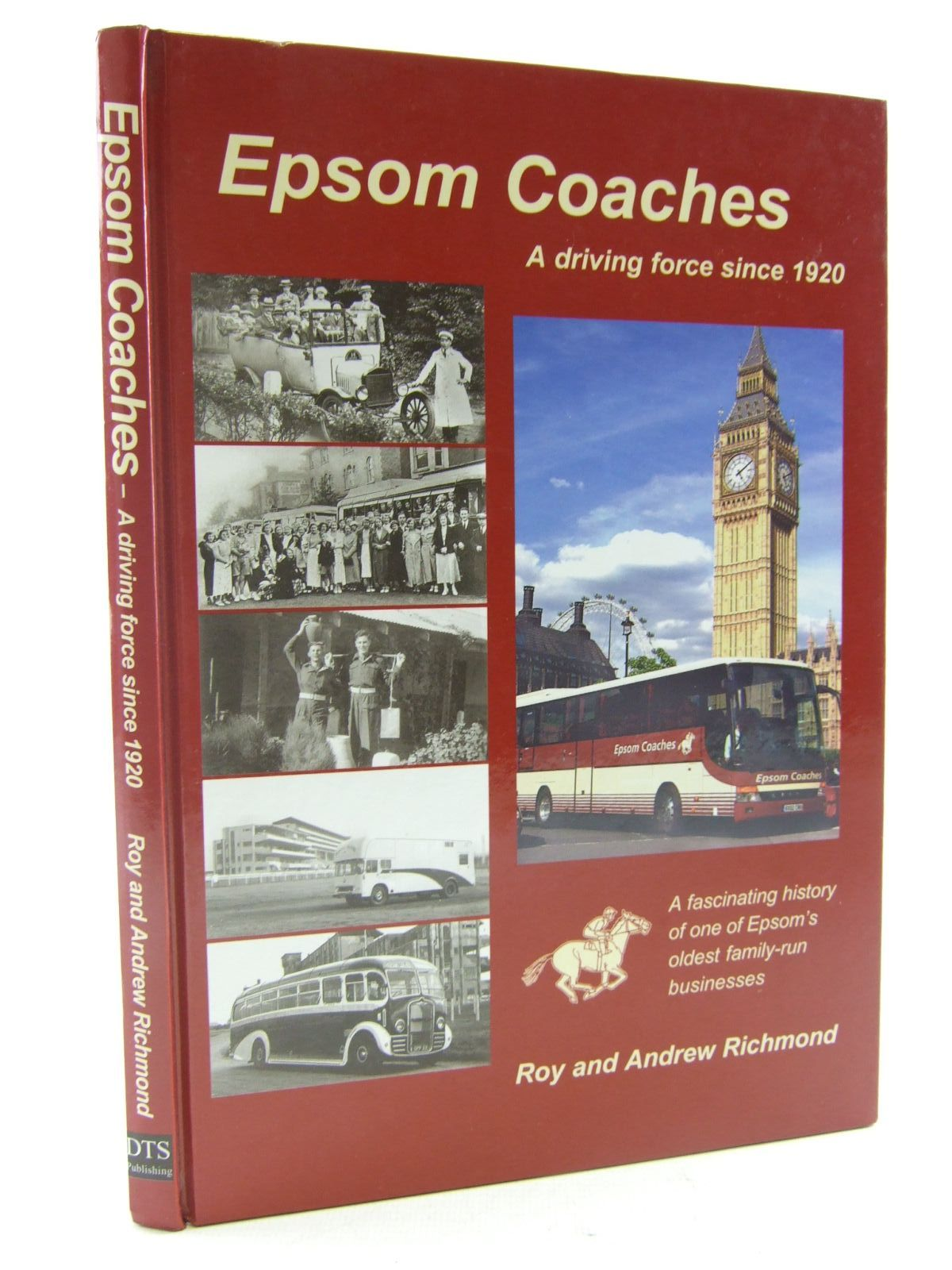 Photo of EPSOM COACHES written by Richmond, Roy Richmond, Andrew published by DTS Publishing (STOCK CODE: 1706662)  for sale by Stella & Rose's Books