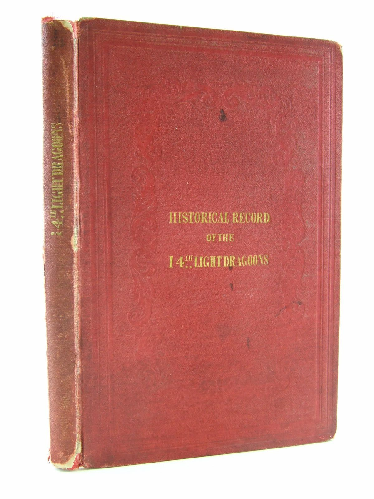 Photo of HISTORICAL RECORD OF THE FOURTEENTH OR THE KING'S REGIMENT OF LIGHT DRAGOONS- Stock Number: 1706931