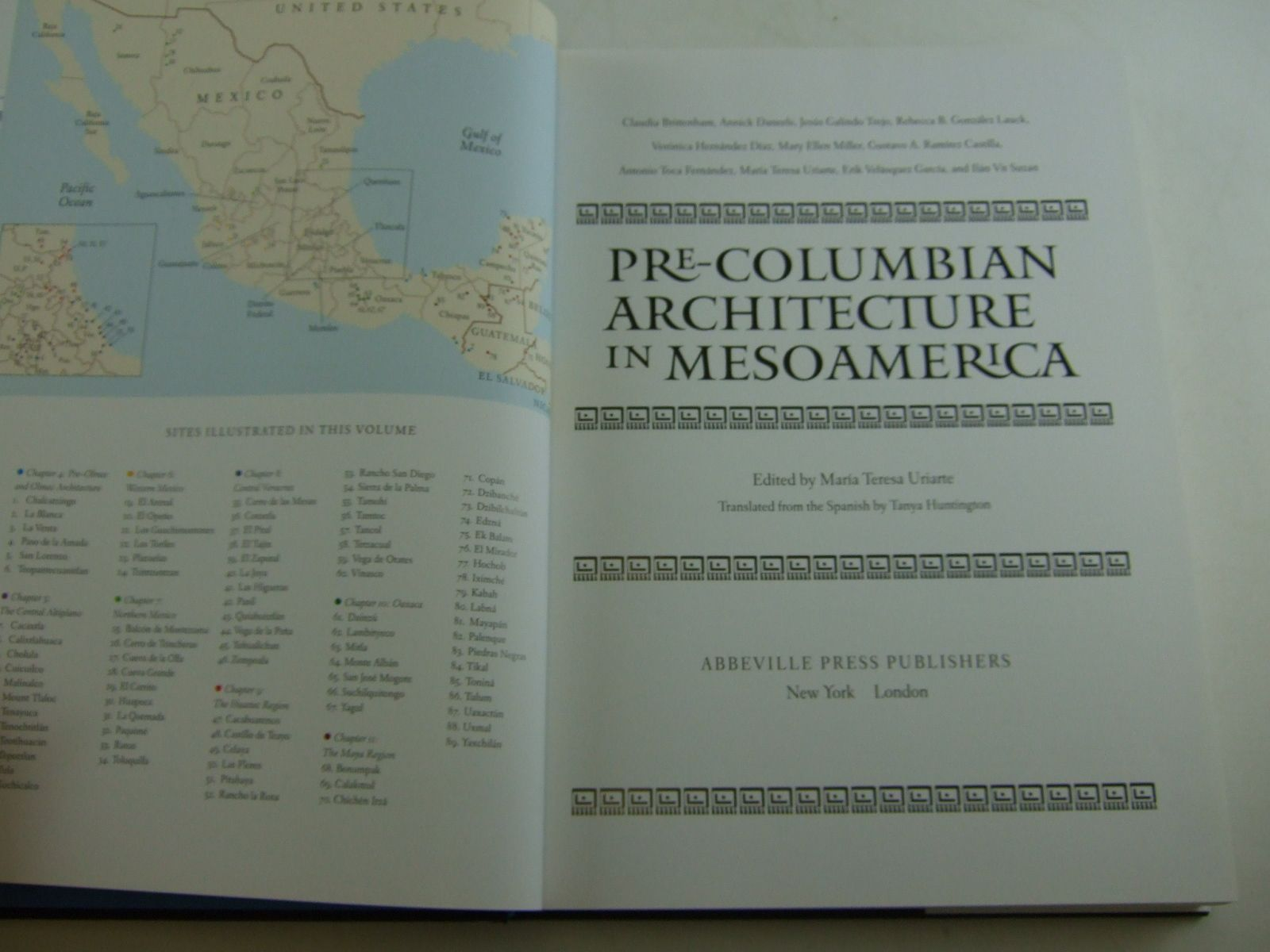 Photo of PRE-COLUMBIAN ARCHITECTURE IN MESOAMERICA written by Uriarte, Maria Teresa et al,  published by Abbeville Press (STOCK CODE: 1707362)  for sale by Stella & Rose's Books
