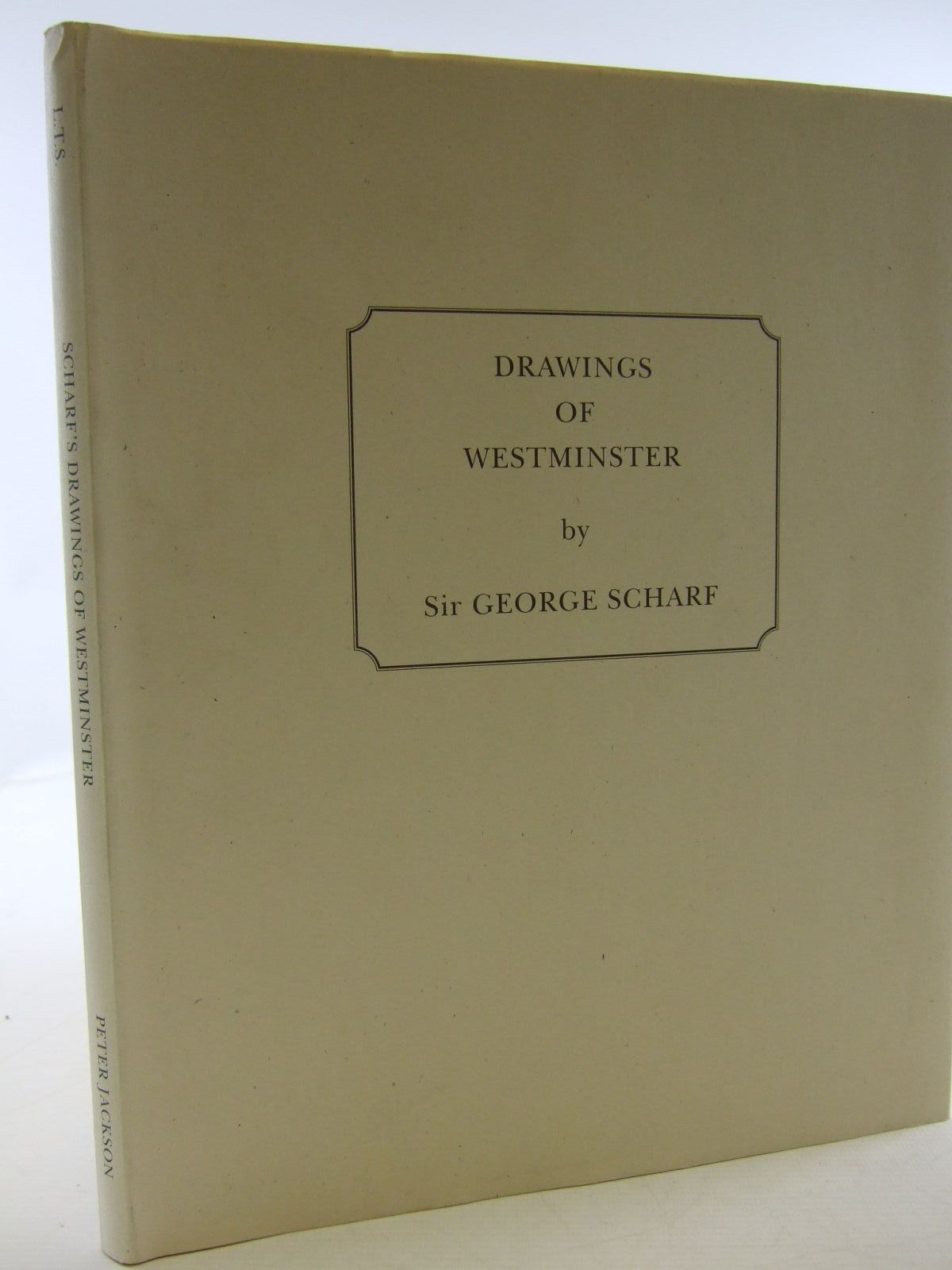 Photo of DRAWINGS OF WESTMINSTER written by Jackson, Peter illustrated by Scharf, George published by London Topographical Society (STOCK CODE: 1707447)  for sale by Stella & Rose's Books