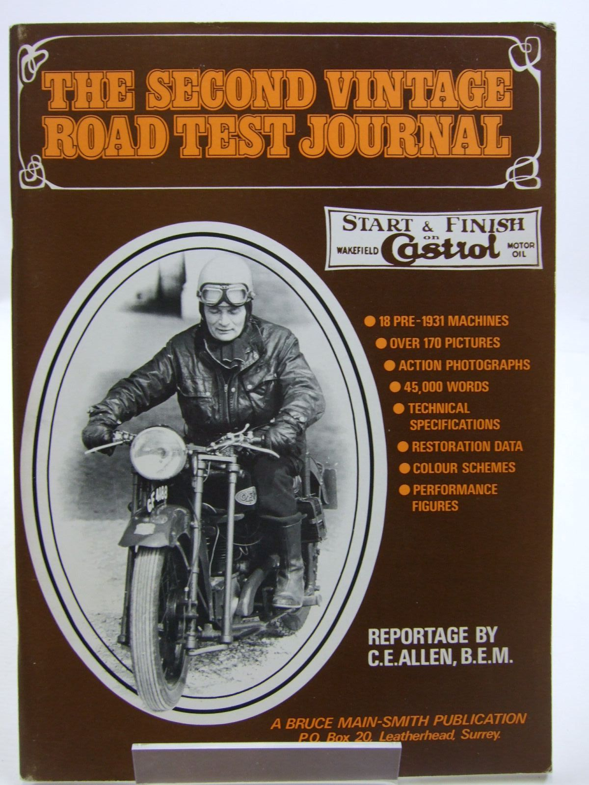 Photo of THE SECOND VINTAGE ROAD TEST JOURNAL written by Allen, C.E. published by Bruce Main-Smith & Co. Ltd. (STOCK CODE: 1707599)  for sale by Stella & Rose's Books