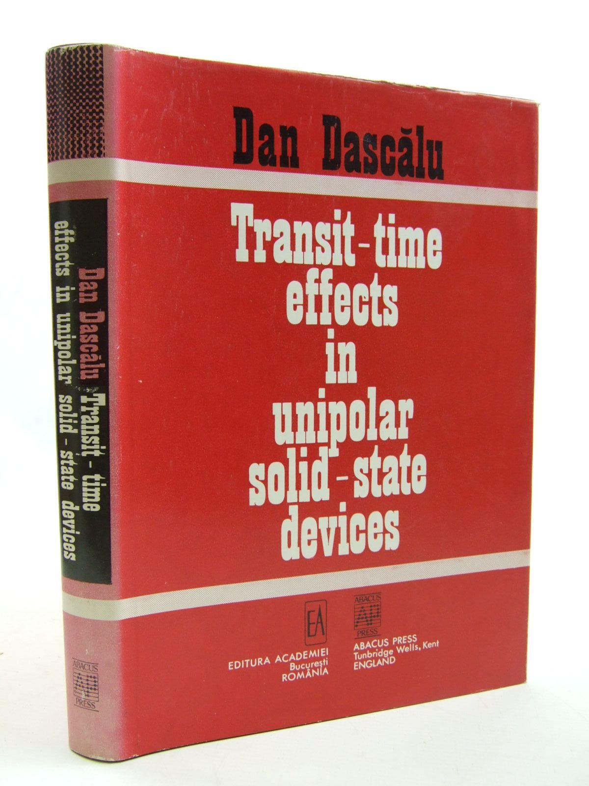 Photo of TRANSIT-TIME EFFECTS IN UNIPOLAR SOLID-STATE DEVICES- Stock Number: 1707715