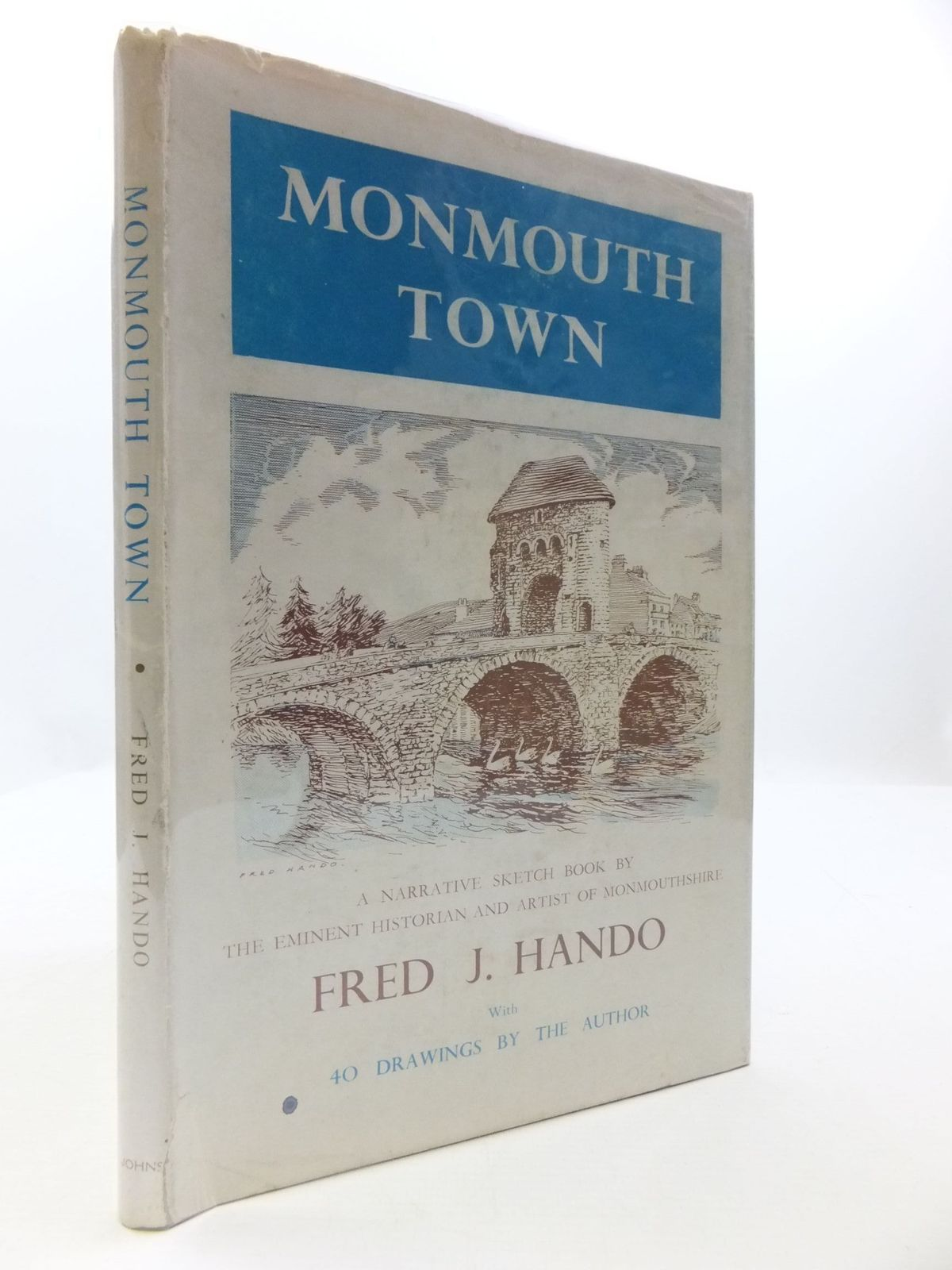 Photo of MONMOUTH TOWN SKETCH BOOK written by Hando, Fred J. illustrated by Hando, Fred J. published by R.H. Johns Limited (STOCK CODE: 1708108)  for sale by Stella & Rose's Books