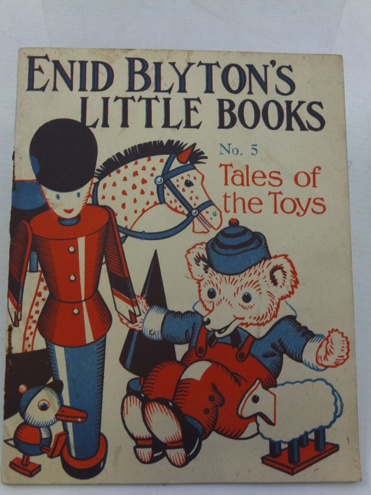 Photo of ENID BLYTON'S LITTLE BOOKS NO. 5 - TALES OF THE TOYS written by Blyton, Enid illustrated by Kerr, Alfred E. published by Evans Brothers Limited (STOCK CODE: 1708192)  for sale by Stella & Rose's Books