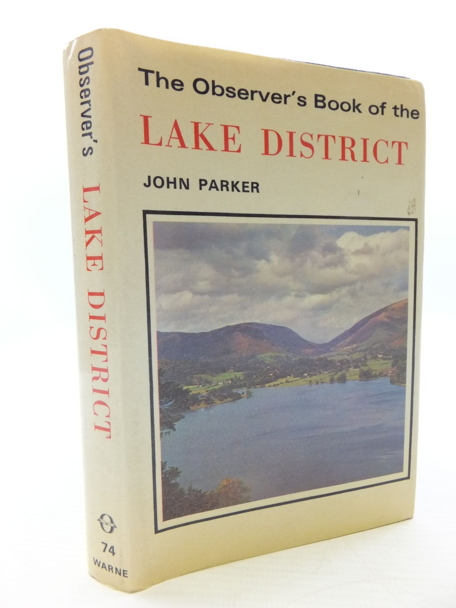Photo of THE OBSERVER'S BOOK OF THE LAKE DISTRICT- Stock Number: 1708225