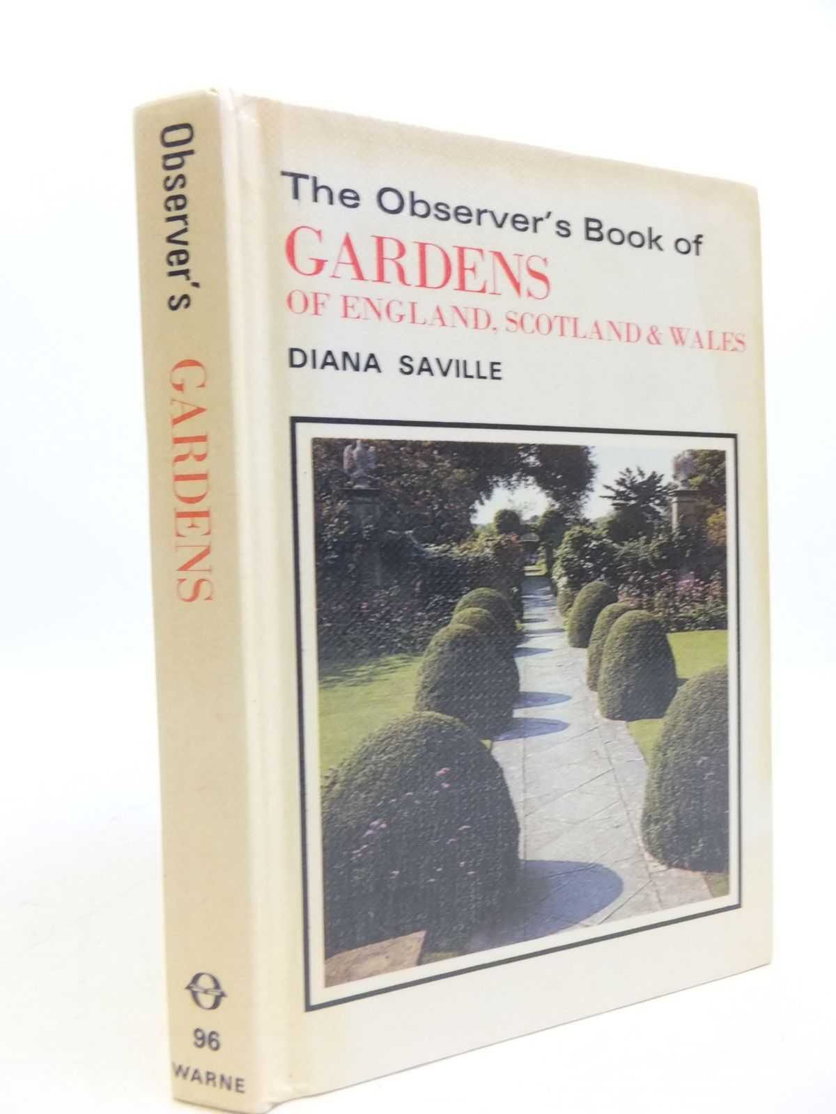 Photo of THE OBSERVER'S BOOK OF GARDENS OF ENGLAND, SCOTLAND & WALES- Stock Number: 1709514