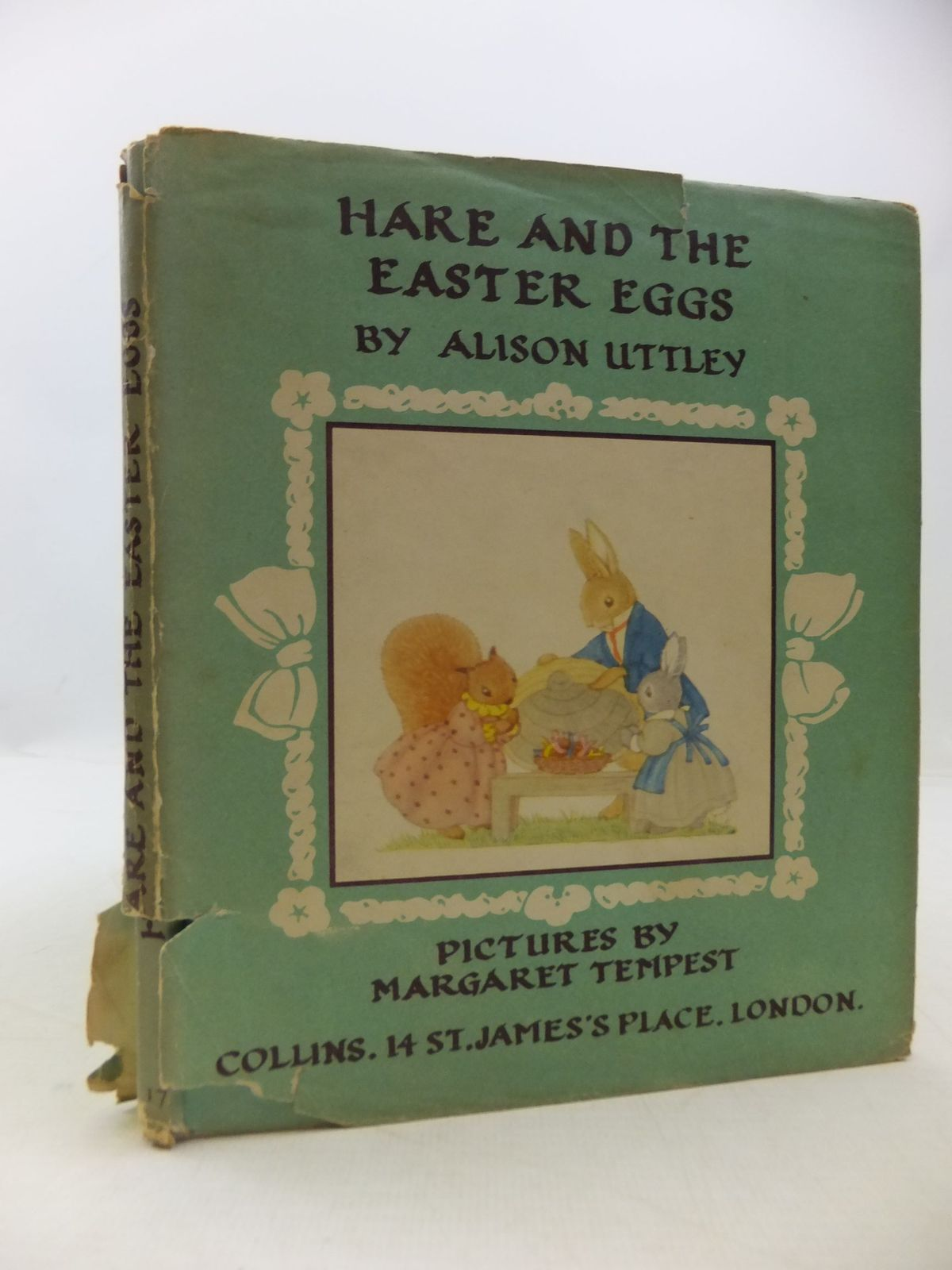 Photo of HARE AND THE EASTER EGGS written by Uttley, Alison illustrated by Tempest, Margaret published by Collins (STOCK CODE: 1709568)  for sale by Stella & Rose's Books