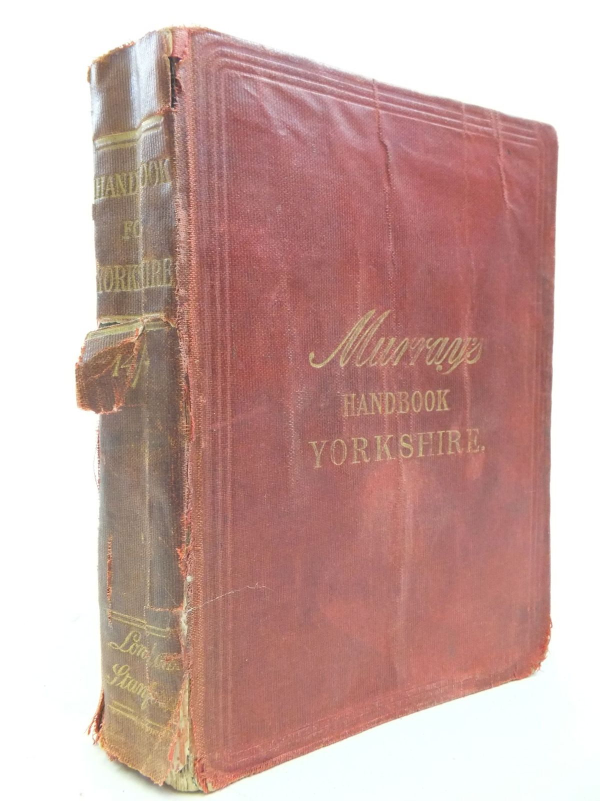 Photo of HANDBOOK FOR YORKSHIRE published by Edward Stanford (STOCK CODE: 1709585)  for sale by Stella & Rose's Books