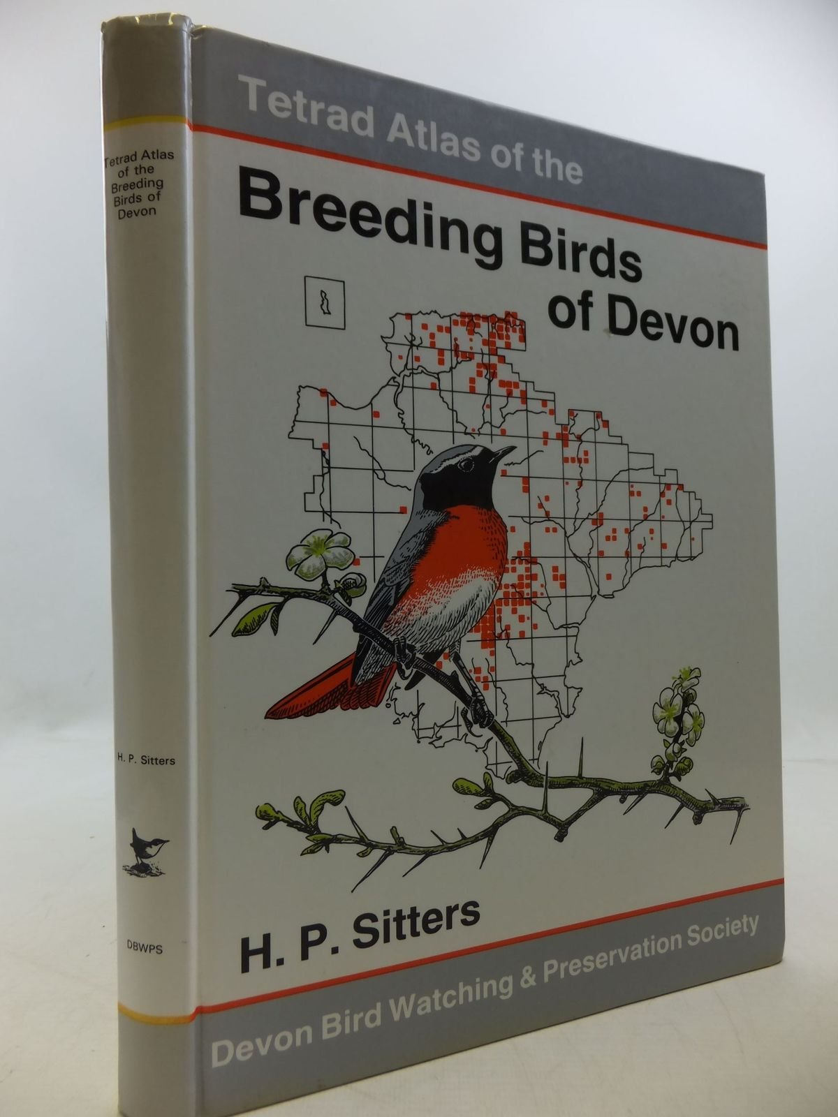 Photo of TETRAD ATLAS OF THE BREEDING BIRDS OF DEVON- Stock Number: 1709811