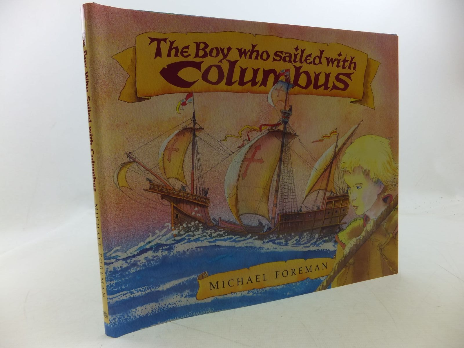 Photo of THE BOY WHO SAILED WITH COLUMBUS- Stock Number: 1710147