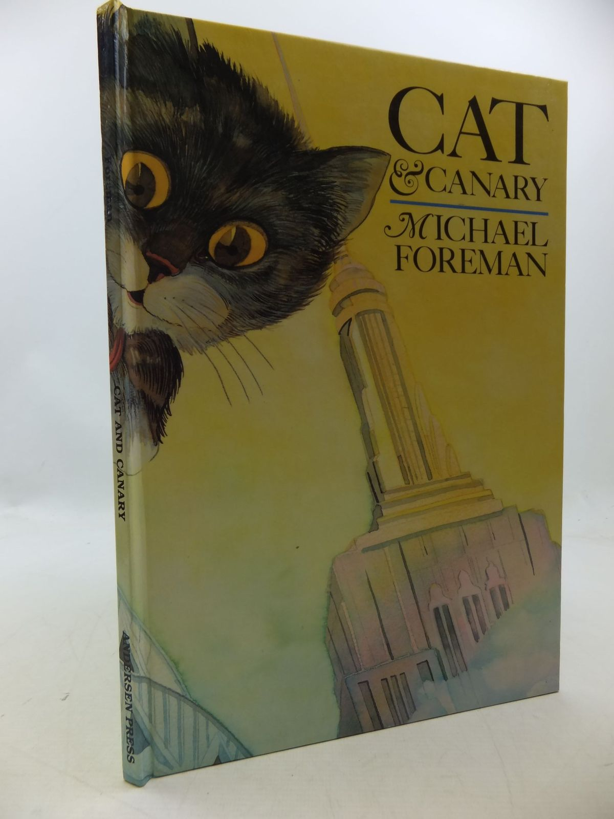 Photo of CAT & CANARY written by Foreman, Michael illustrated by Foreman, Michael published by Andersen Press (STOCK CODE: 1710210)  for sale by Stella & Rose's Books