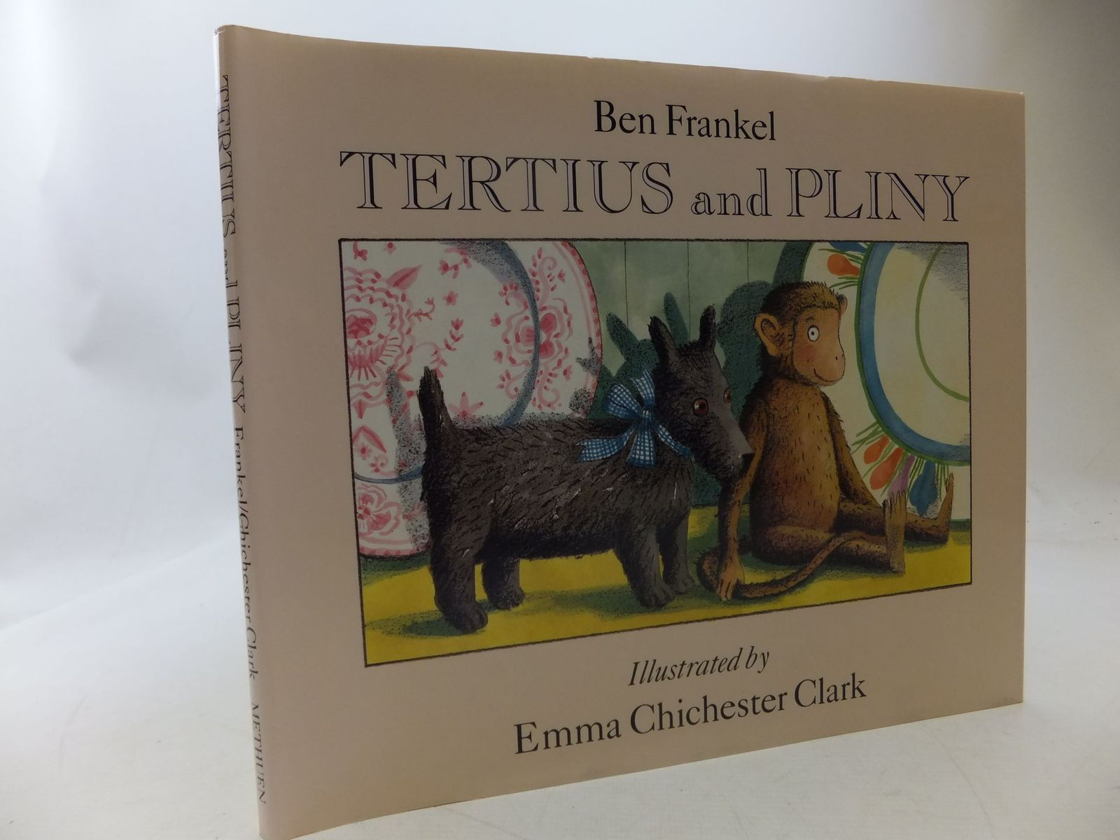 Photo of TERTIUS AND PLINY written by Frankel, Ben illustrated by Clark, Emma Chichester published by Methuen Children's Books (STOCK CODE: 1710266)  for sale by Stella & Rose's Books