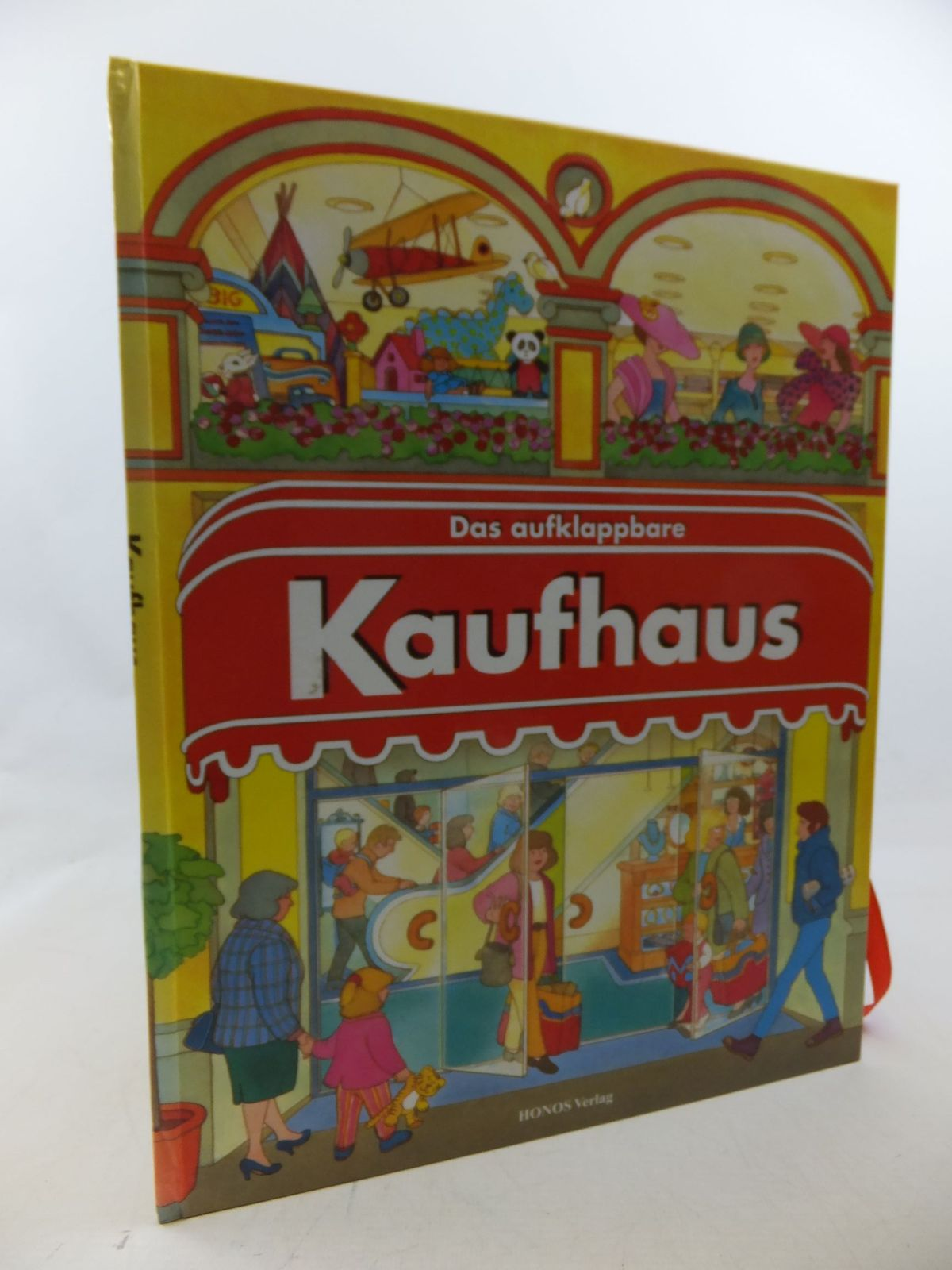 Photo of DAS AUFKLAPPBARE KAUFHAUS illustrated by Bosnia, Nella published by Honos Verlag (STOCK CODE: 1710313)  for sale by Stella & Rose's Books