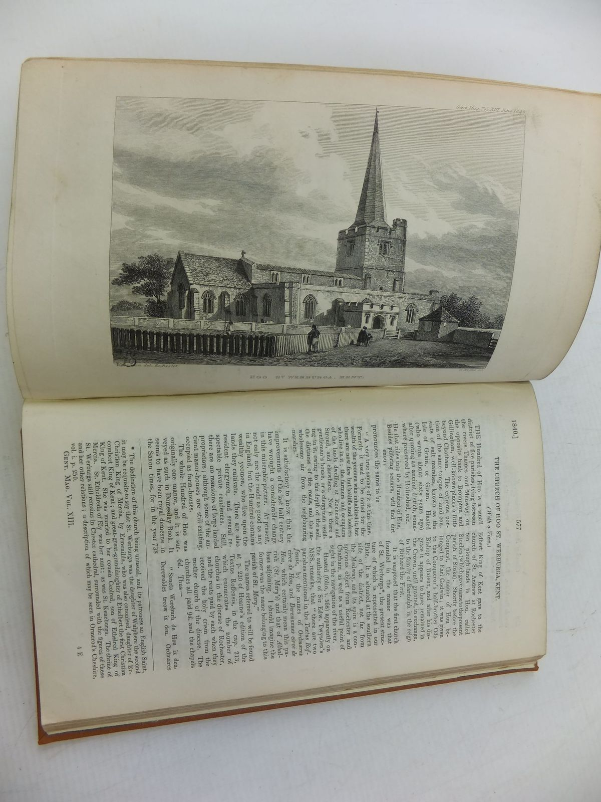 Photo of THE GENTLEMAN'S MAGAZINE VOLUME XIII 1840 written by Urban, Sylvanus published by William Pickering, John Bowyer Nichols And Son (STOCK CODE: 1710403)  for sale by Stella & Rose's Books
