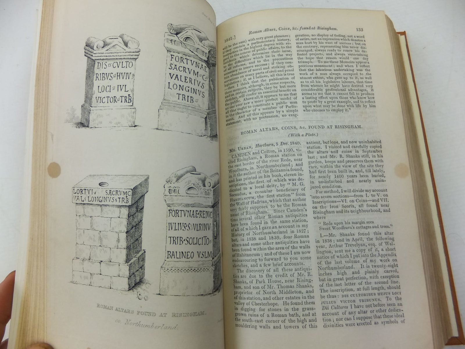 Photo of THE GENTLEMAN'S MAGAZINE VOLUME XV 1841 written by Urban, Sylvanus published by William Pickering, John Bowyer Nichols And Son (STOCK CODE: 1710404)  for sale by Stella & Rose's Books