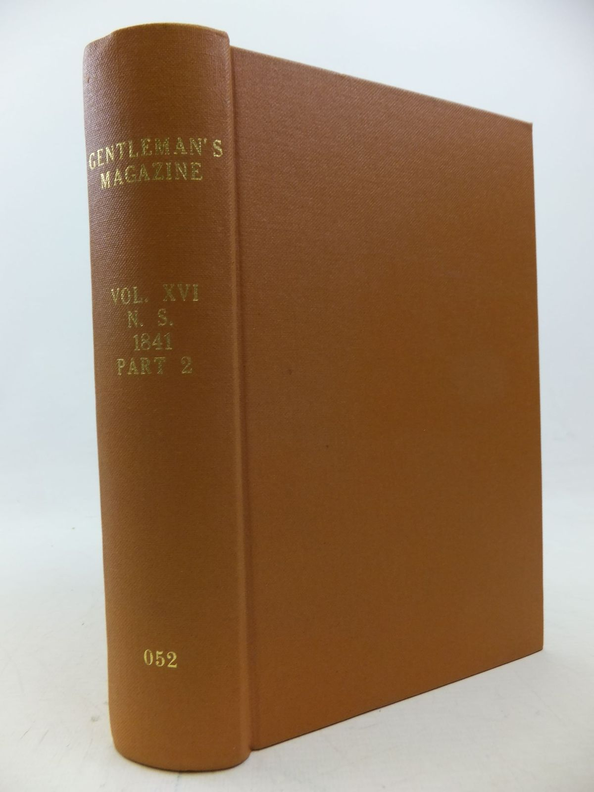 Photo of THE GENTLEMAN'S MAGAZINE VOLUME XVI 1841 written by Urban, Sylvanus published by William Pickering, John Bowyer Nichols And Son (STOCK CODE: 1710405)  for sale by Stella & Rose's Books