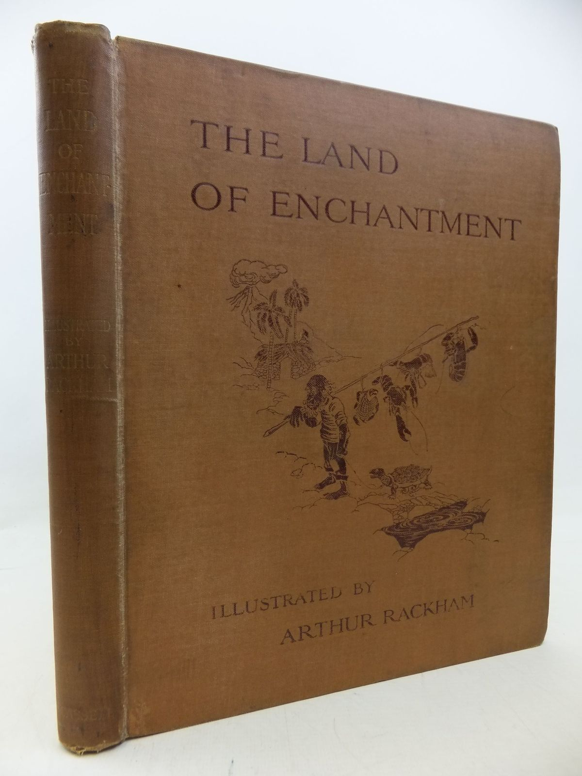 Photo of THE LAND OF ENCHANTMENT written by Bonser, A.E. Woolf, Sidney Bucheim, E.S. illustrated by Rackham, Arthur published by Cassell & Co. Ltd. (STOCK CODE: 1710415)  for sale by Stella & Rose's Books