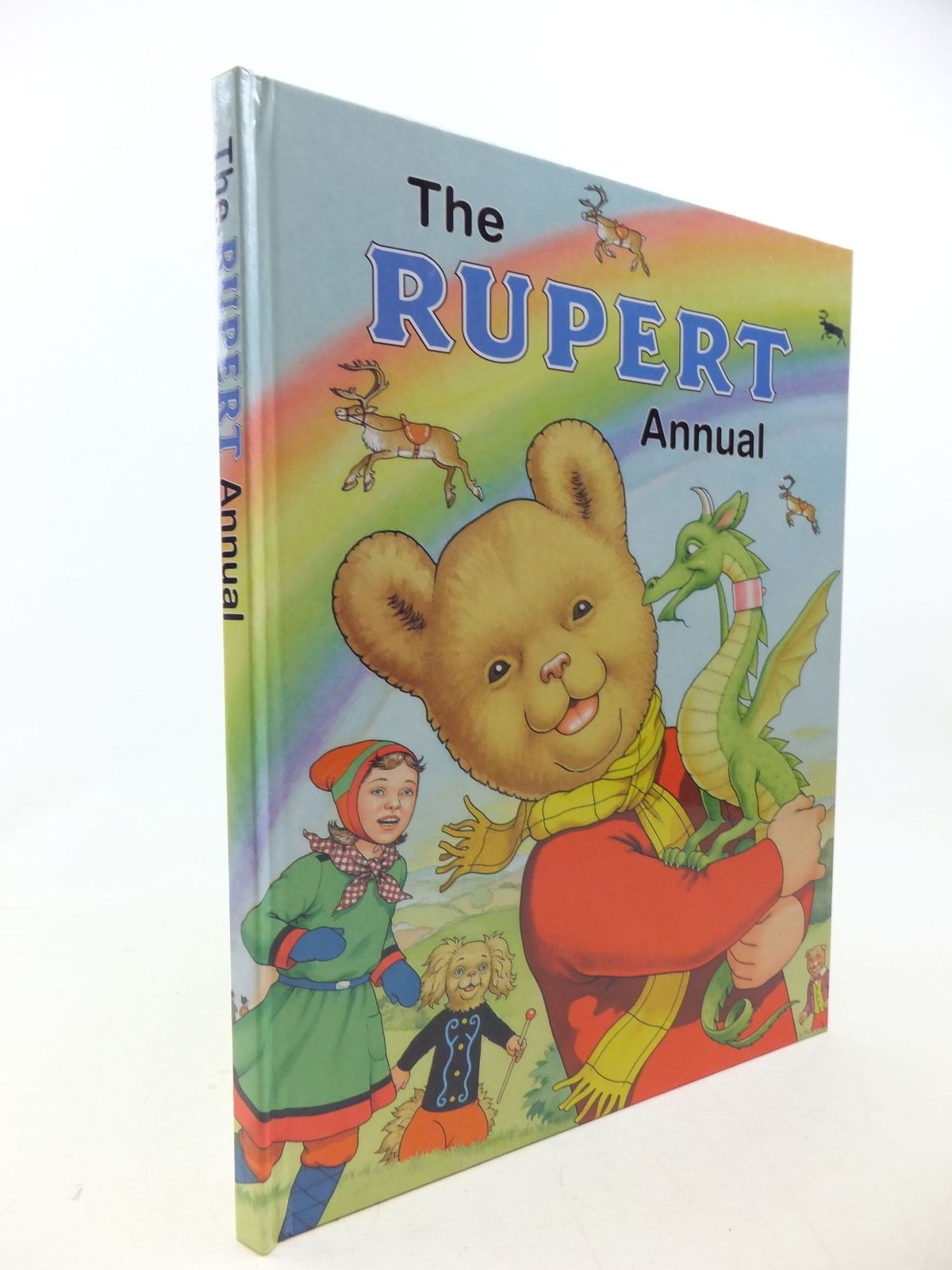 Photo of RUPERT ANNUAL 2004 written by Henderson, James<br />Robinson, Ian illustrated by Harrold, John published by Express Newspapers Ltd. (STOCK CODE: 1710623)  for sale by Stella & Rose's Books