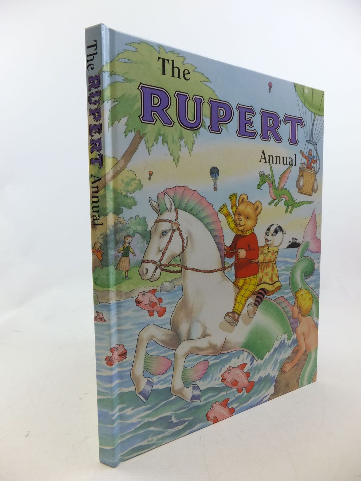 Photo of RUPERT ANNUAL 2001 written by Robinson, Ian illustrated by Harrold, John published by Pedigree Books Limited (STOCK CODE: 1710630)  for sale by Stella & Rose's Books