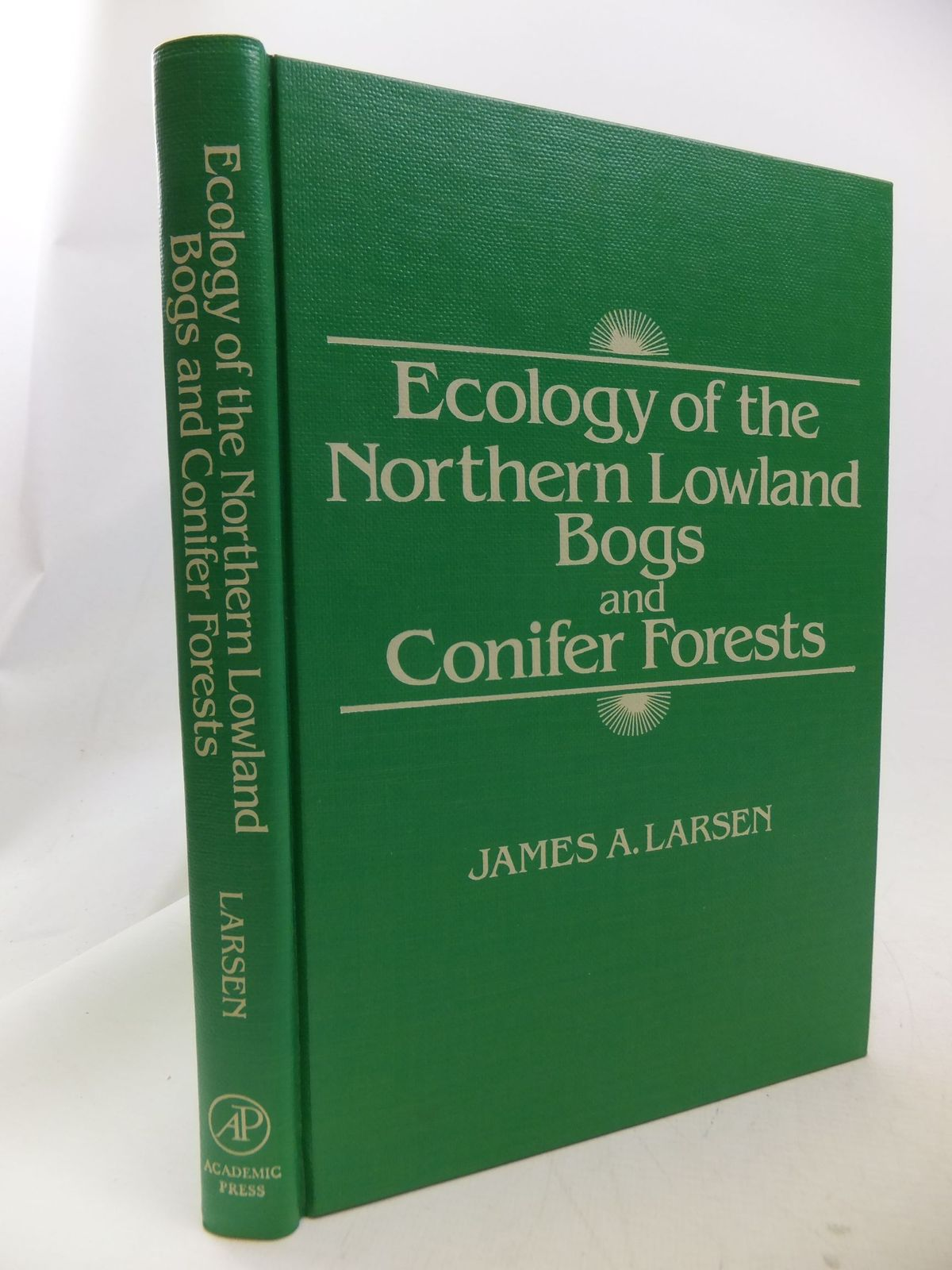 Photo of ECOLOGY OF THE NORTHERN LOWLAND BOGS AND CONIFER FORESTS written by Larsen, James A. published by Academic Press (STOCK CODE: 1710823)  for sale by Stella & Rose's Books
