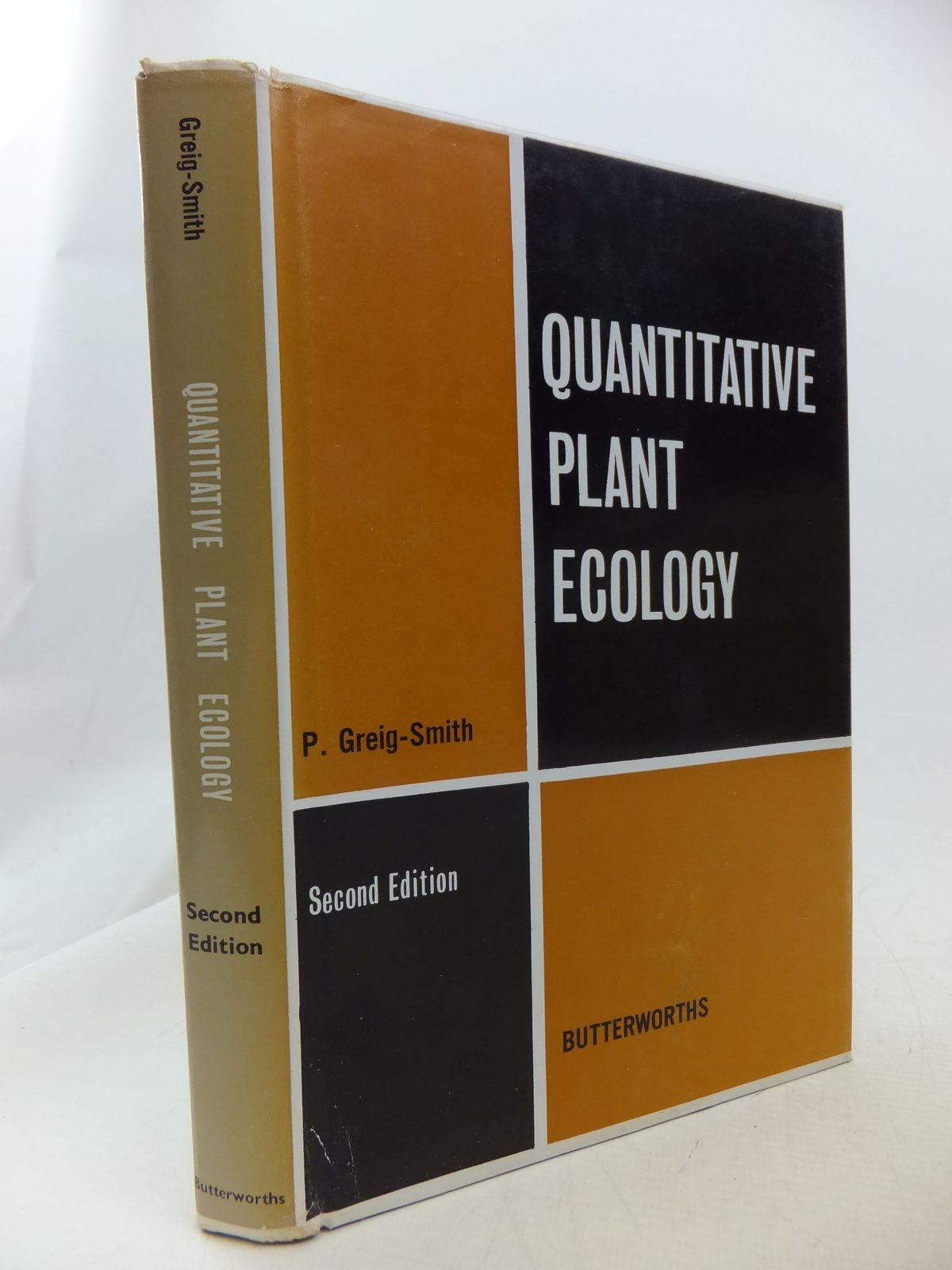 Photo of QUANTITATIVE PLANT ECOLOGY written by Greig-Smith, P. published by Butterworths Scientific Publications (STOCK CODE: 1710838)  for sale by Stella & Rose's Books