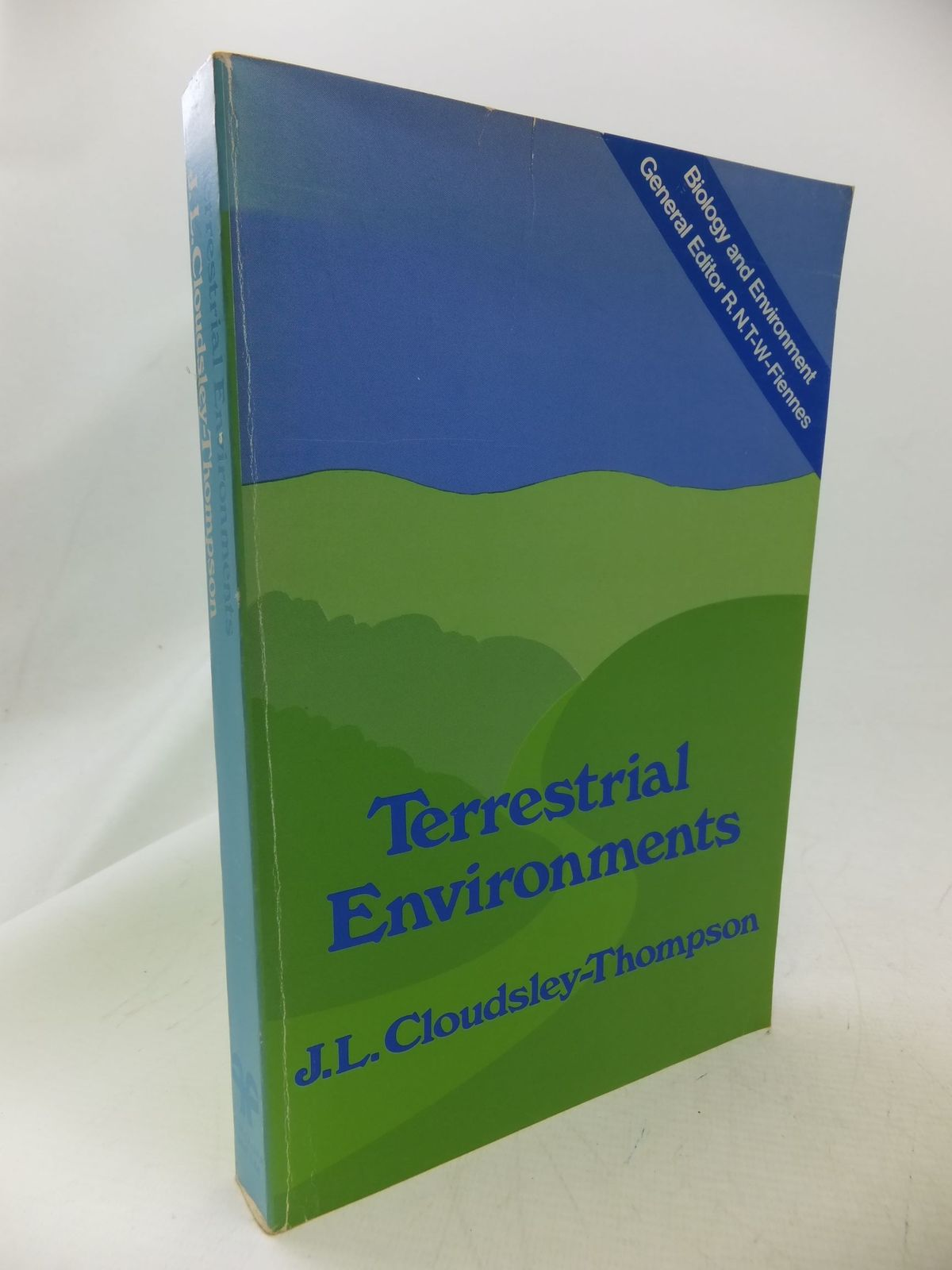 Photo of TERRESTRIAL ENVIRONMENTS written by Cloudsley-Thompson, J.L. published by Croom Helm (STOCK CODE: 1710858)  for sale by Stella & Rose's Books