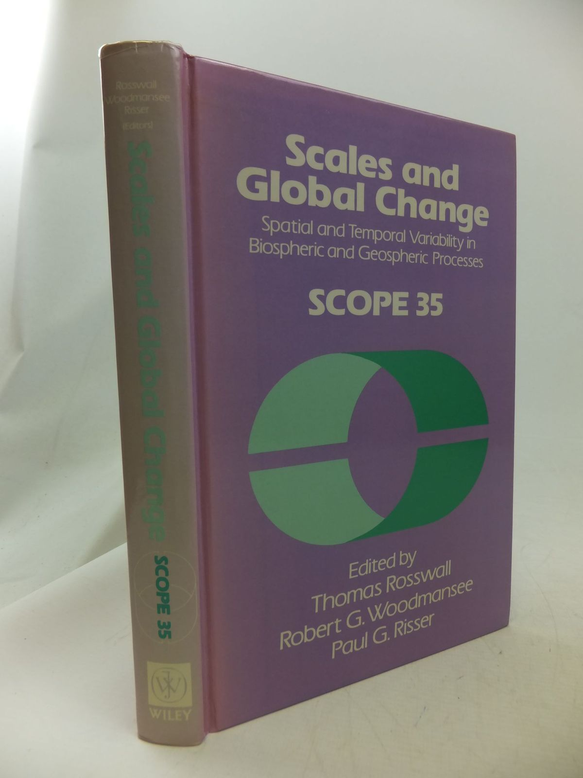Photo of SCALES AND GLOBAL CHANGE written by Rosswall, Thomas Woodmansee, Robert G. Risser, Paul G. published by John Wiley & Sons (STOCK CODE: 1710864)  for sale by Stella & Rose's Books