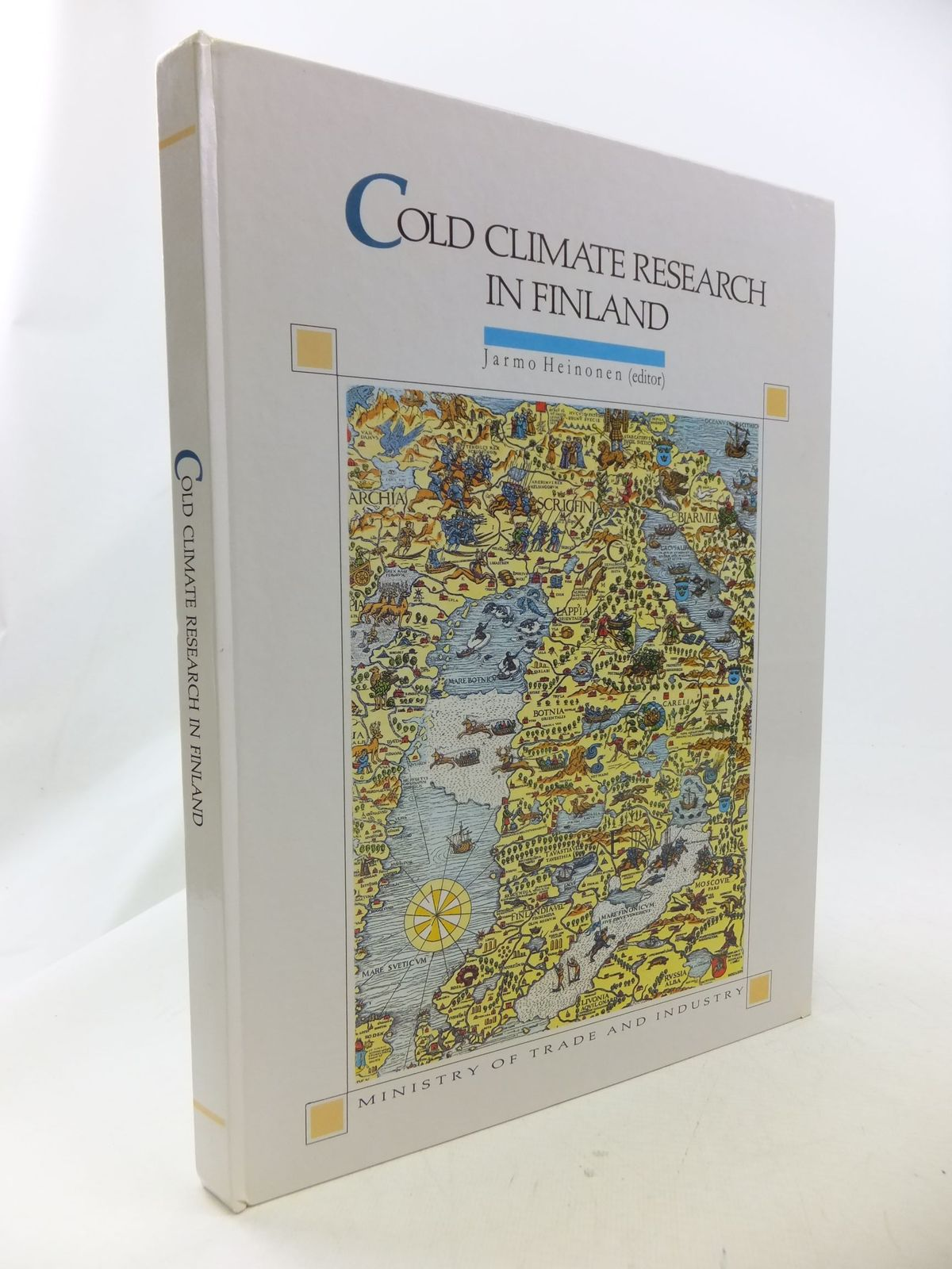Photo of COLD CLIMATE RESEARCH IN FINLAND written by Heinonen, Jarmo et al, published by Ministry Of Trade And Industry (STOCK CODE: 1710871)  for sale by Stella & Rose's Books